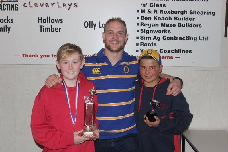 2016 Clutha Rugby School Boys Prizegiving.  Proudly engraved by the Signworks Engraving team