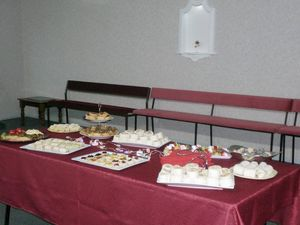 Funeral Service Catering at our Lounge